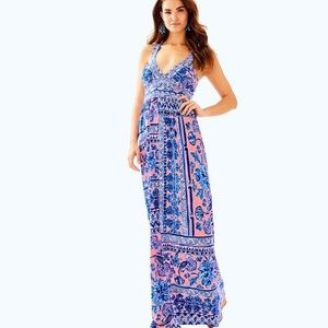 Lilly Pulitzer Taryn Maxi Dress XS NWT
